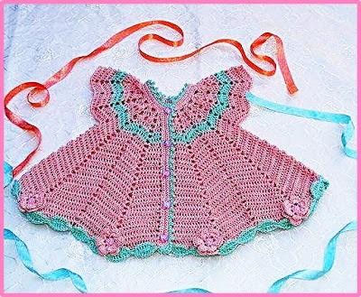 Vestido Para Nena Crochet 2017