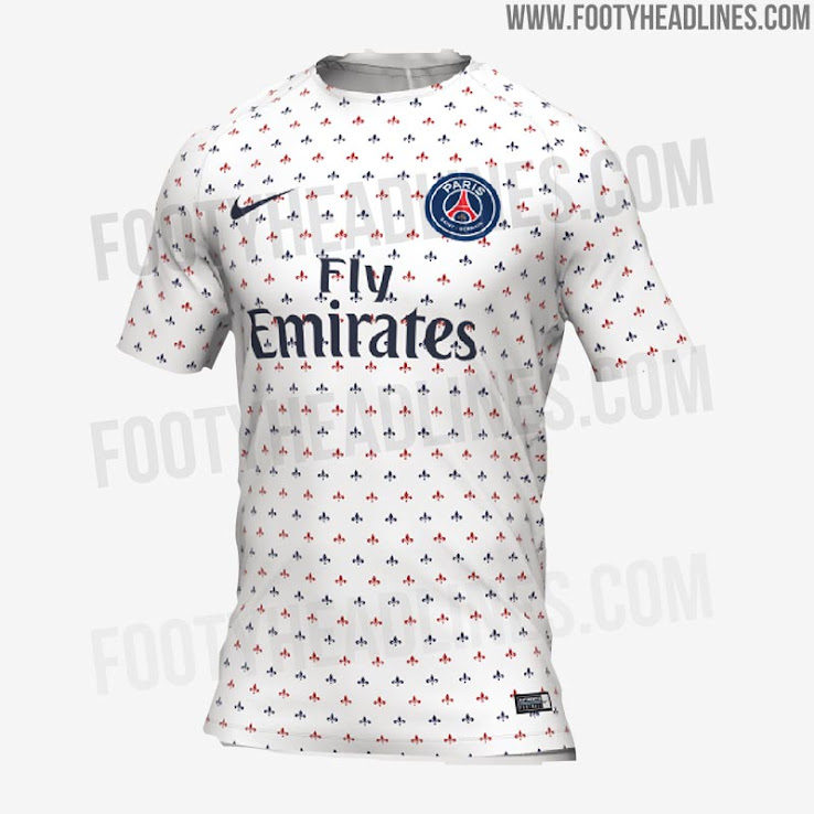 Stunning Nike Psg 2019 Pre Match Shirt Leaked Footy Headlines b604e0196