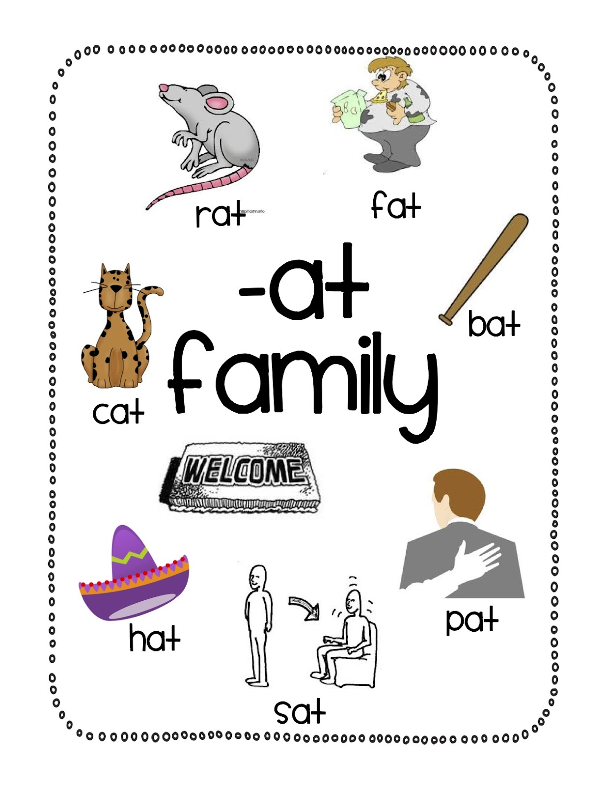At Family Poster