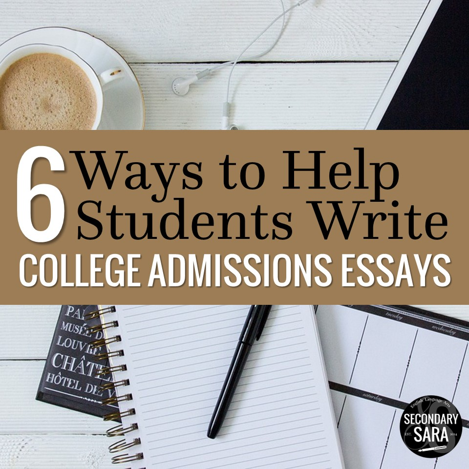 ways to help seniors write college admissions essays secondary  college admissions essays are extremely stressful but they re also arguably the most important