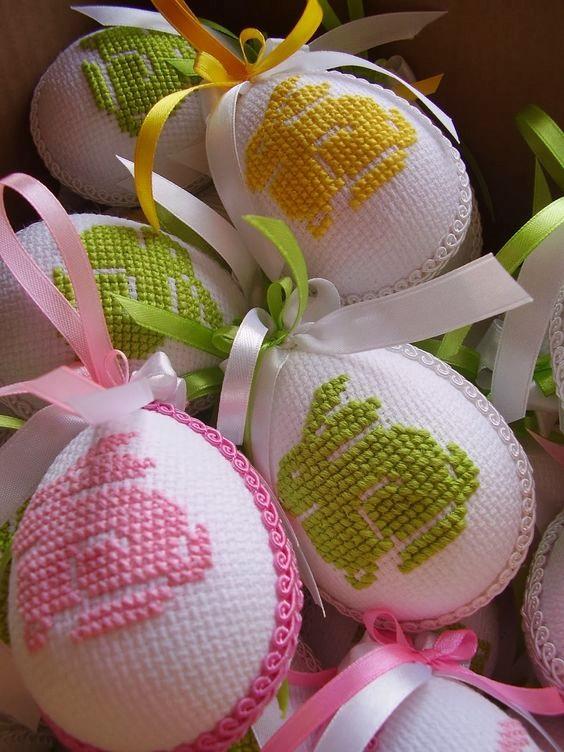 wzory hatow krzyzykowych na jajka