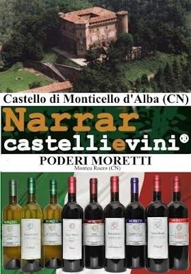 Narrar castelli e vini®: la storia a colori! 23 ottobre Monticello d'Alba (CN)