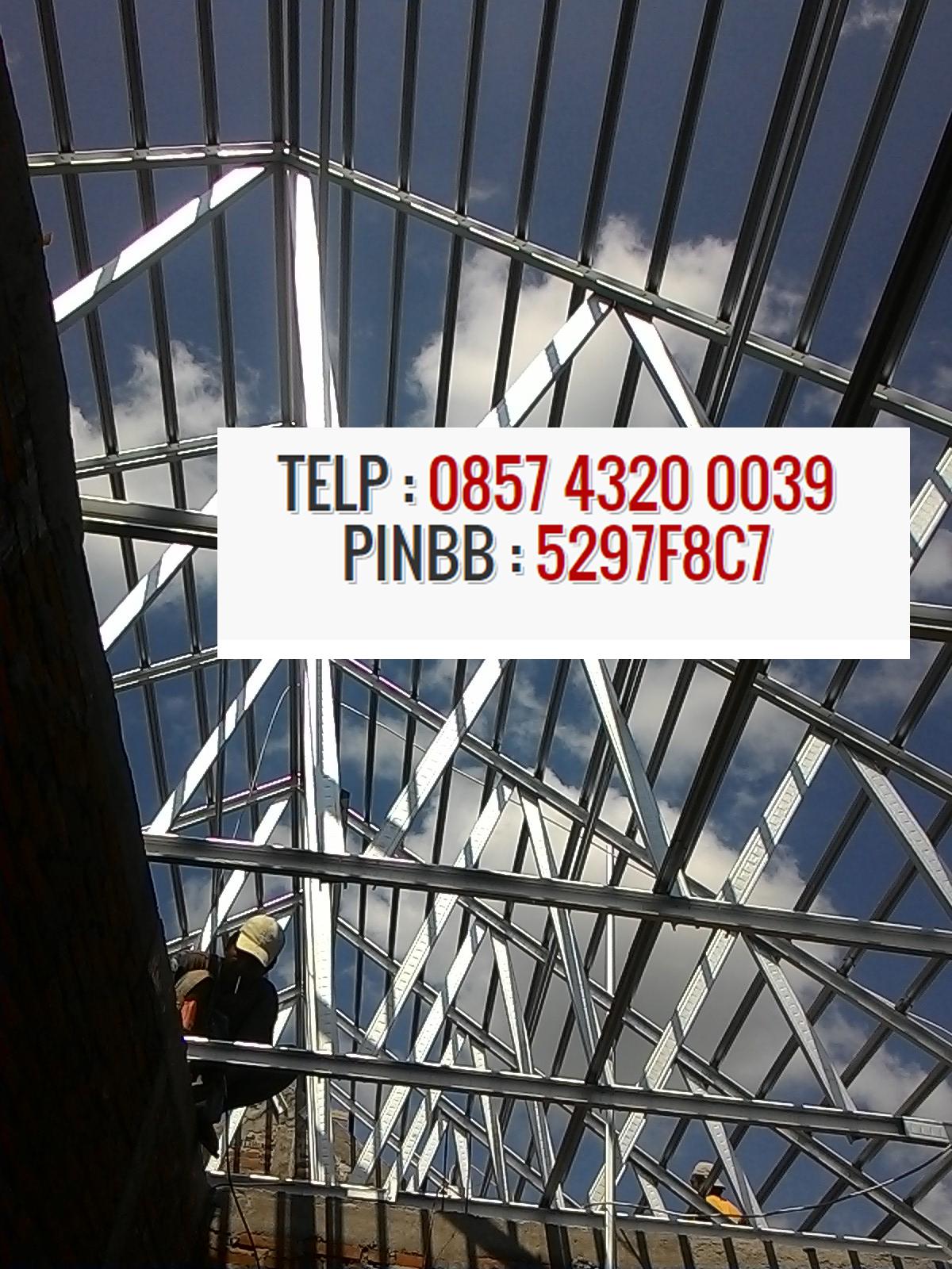 harga baja ringan merk 2016 per batang 085743200039