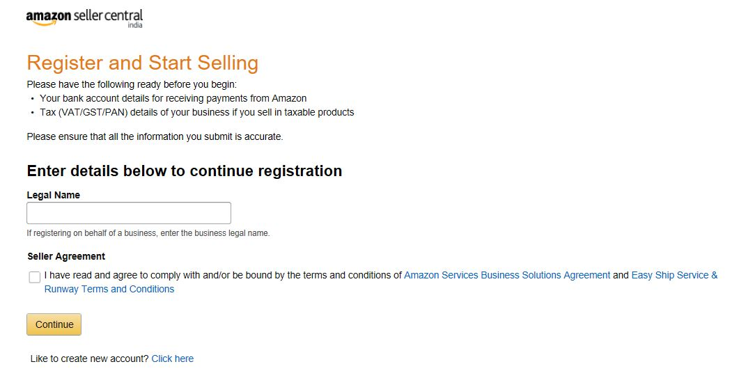 Atom Digital How To Register On Amazon Marketplace Onboarding
