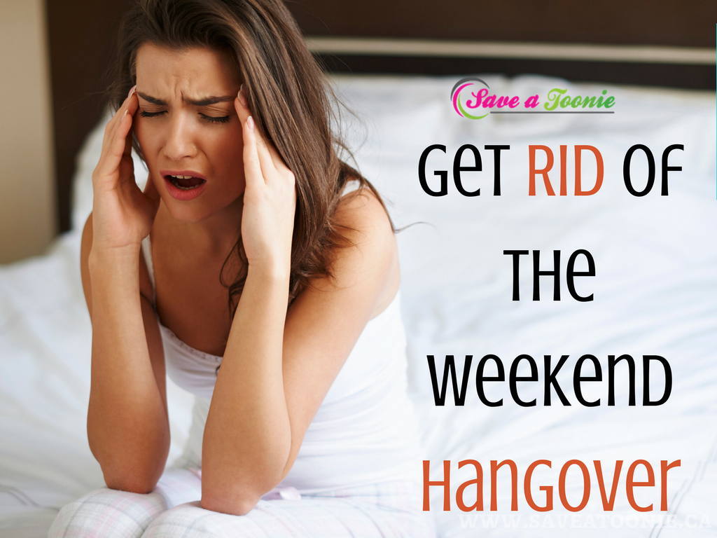 Tips for Getting Rid of the Weekend Hangover