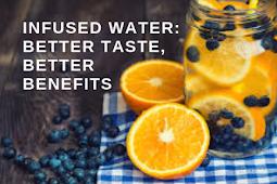 Infused Water: Better Taste, Better Benefits