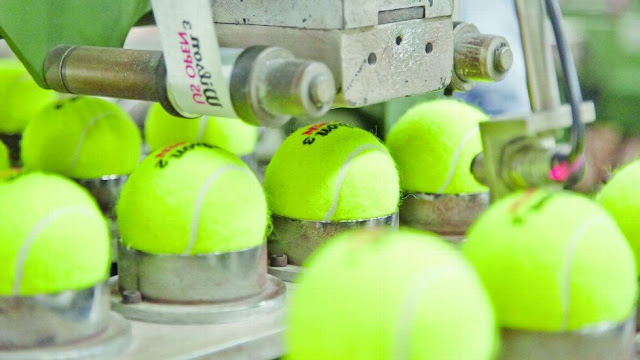 How to make a Tennis Ball by Benedict Redgrove