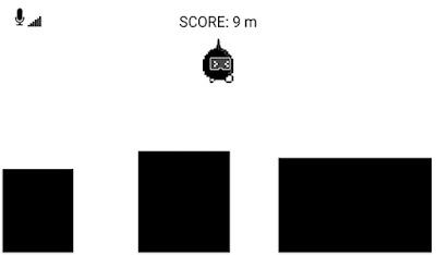 يجب عليك ان تصرخ باعلى صوت لتقفز في لعبة الواجهة الرئيسية للعبة Scream Go