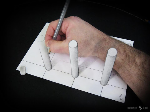 ilusi gambar 3 dimensi yang keren dan menakjubkan serta kreatif-14