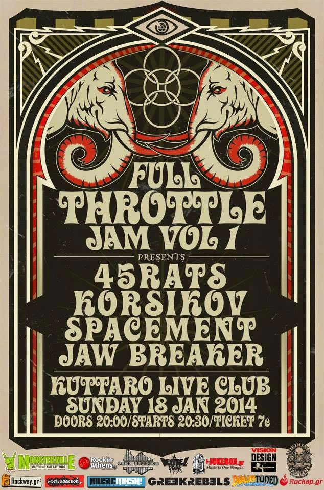 [Live Report] Full Throttle JAM vol.1
