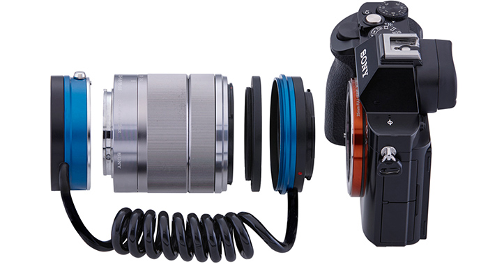 Реверсивный адаптер Novoflex Retro для системы Sony E
