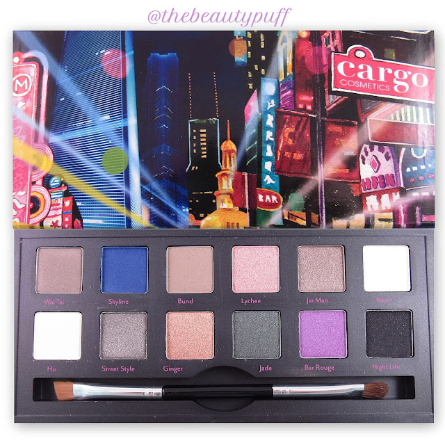 cargo shanghai nights palette - the beauty puff