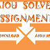Aiou Solved Assignment 1 Code 1423 Autumn 2016 Free Download