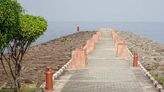 Equatorial Guinea's Sipopo has a small island