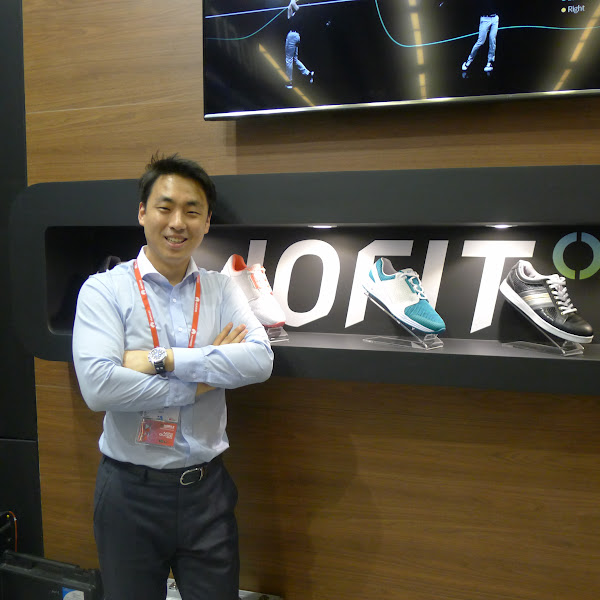 IOFIT執行長Jacob Cho。(圖片來源:詹子嫻攝)