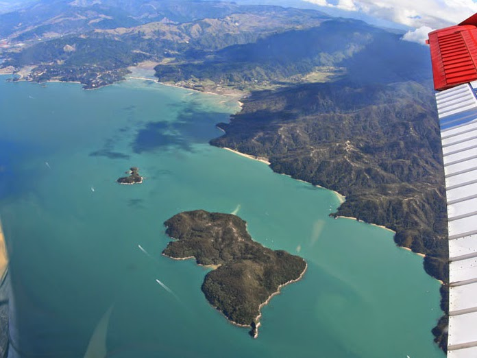Abel Tasman National Park View From Air