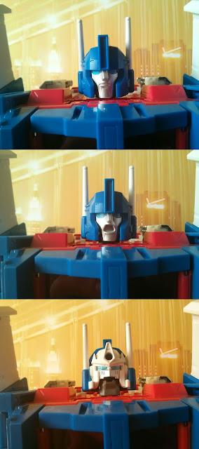 takara transformers mp-22 ultra magnus faces