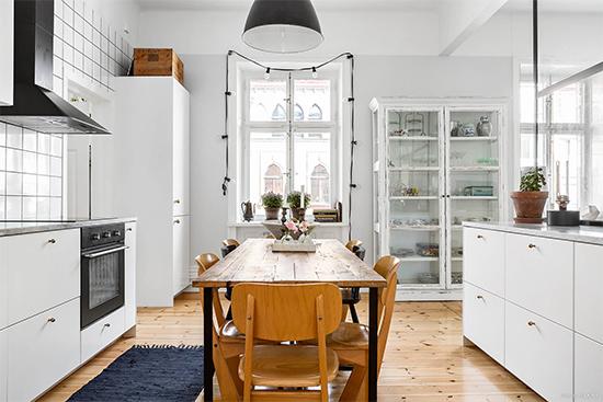 mesa de jantar, cozinha americana, cozinha iluminada, cozinha decorada, a casa eh sua, acasehsua, decor, home decor