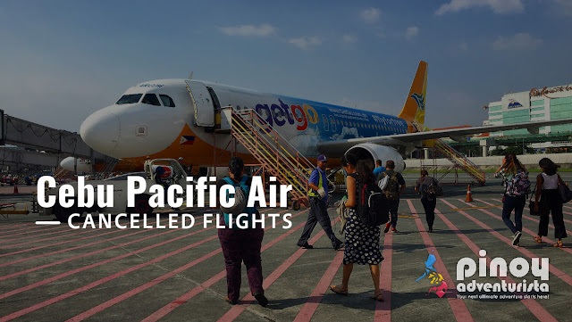 Match 2017 Cebu Pacific Air Cancelled Flights due to Tagaytay Radar Maintenance