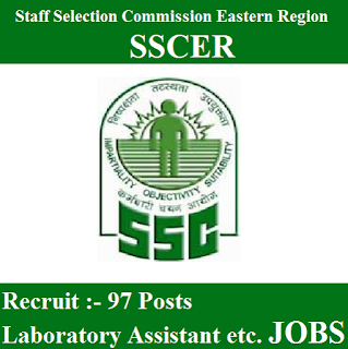 Staff Selection Commission Eastern Region, SSCER, SSC, SSCER Admit Card, Admit Card, sscer logo