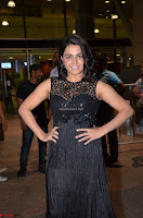 Wamiqa Gabbi in a sleeveless Black Designer Transparent Gown at 64th Jio Filmfare Awards South ~  Exclusive 051.JPG