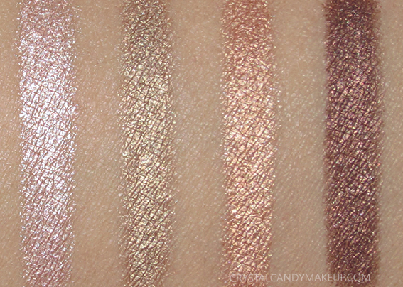 TheBalm Batter Up Eyeshadow Sticks Moonshot Shutout Curveball Dugout Swatches