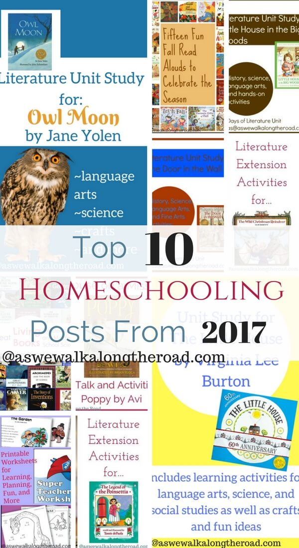 Top ten homeschooling posts of 2017