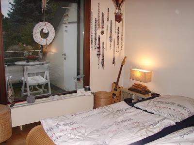 Einblicke ins Schlafzimmer gewährt uns Bloggerin Burgi vom Blog Bodenseegarten
