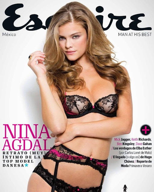 The Hot Celebs Home Nina Agdal Esquire Mexico Magazine