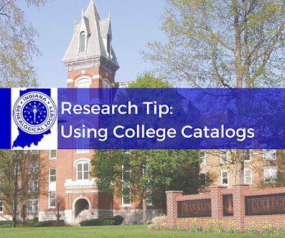 Research Tip - Using College Catalogs