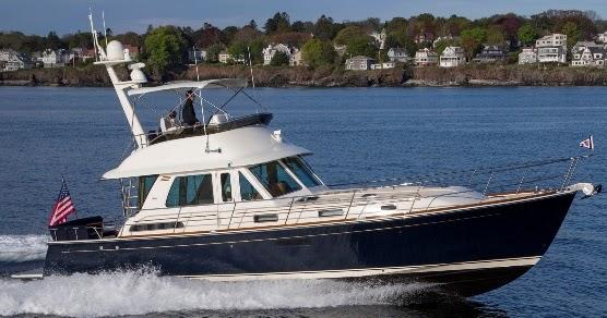 Poweryacht Mag Global Informative Motor Yacht Page New Model Sabre 48 Flybridge