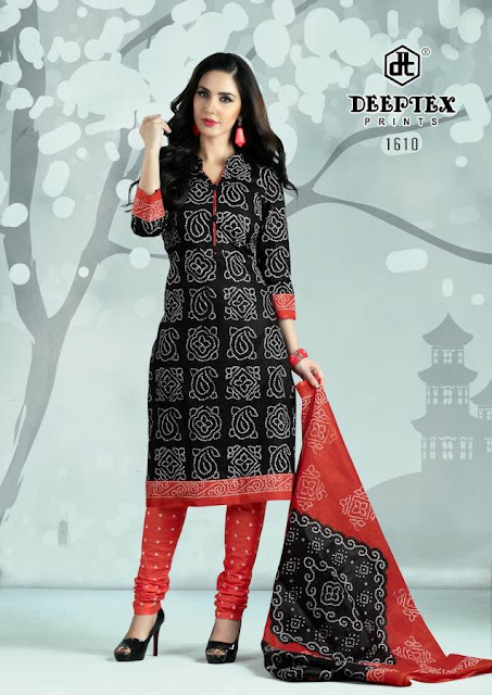 Deeptex Chunri-16 Cotton Printed Dress material Wholesale