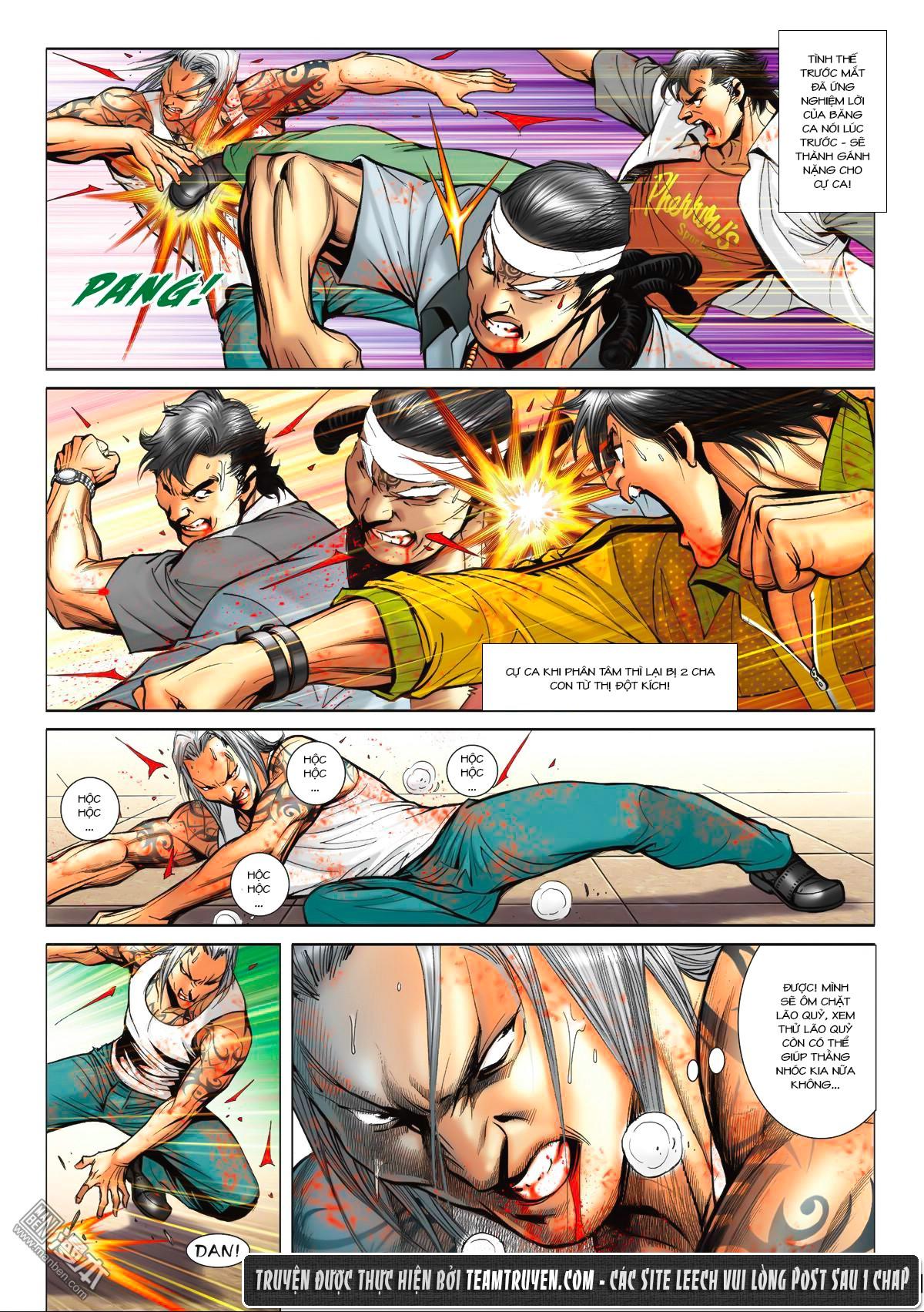 Người Trong Giang Hồ NetTruyen chap 1553 - Trang 19