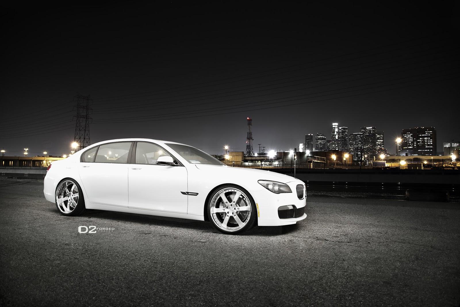 White Land Rover >> Cars GTO: D2Forged BMW 750LI FMS-09