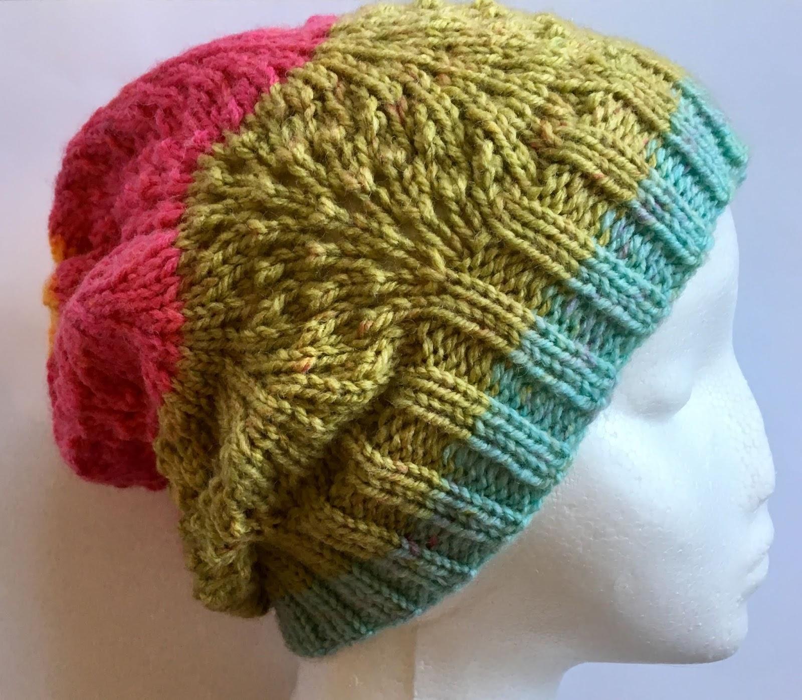 Lullaby Lodge Shetland Lace Slouchie Free Knitting Pattern