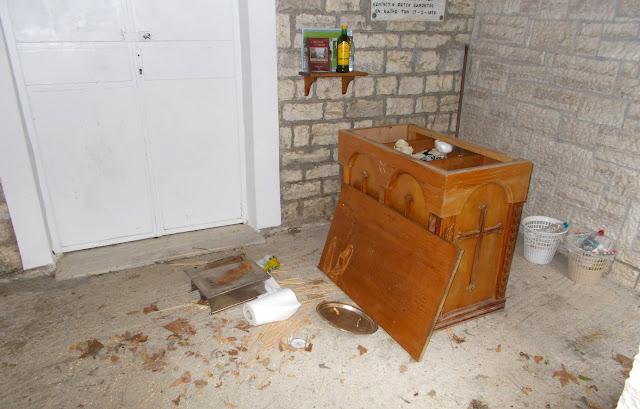 """Θεσπρωτία: Διαρρήκτες """"χτύπησαν"""" την Αγία Παρασκευή στο Πολύδροσο Σουλίου"""