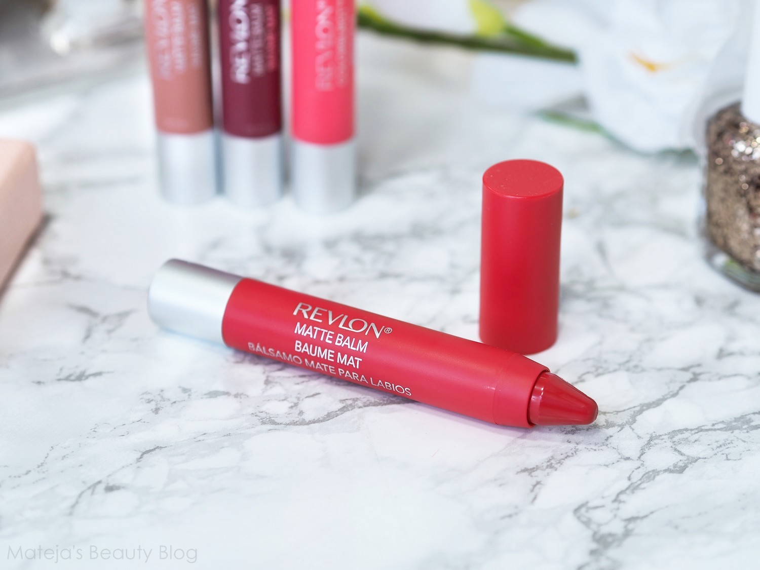 Revlon Colorburst Matte Balm In Striking Reswatches Of Unapologetic Fiery And Enchanting