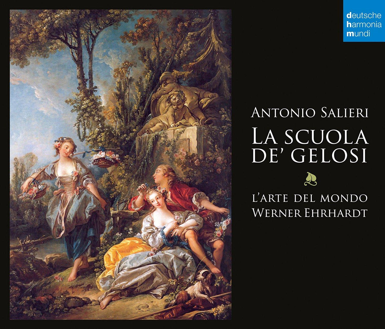 IN REVIEW: Antonio Salieri - LA SCUOLA DE' GELOSI (deutsche harmonia mundi 88985332282)
