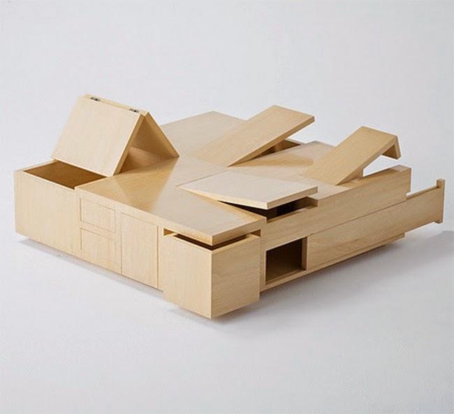 Secret Compartment Table
