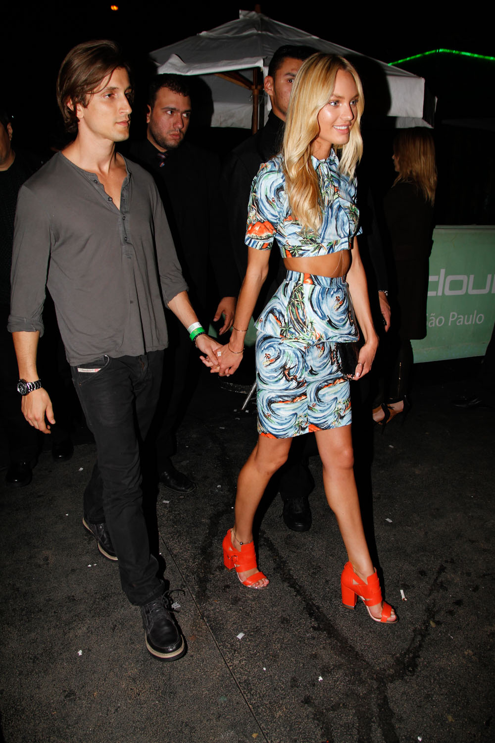 Models Inspiration: Candice Swanepoel ♥ with her boyfriend ...