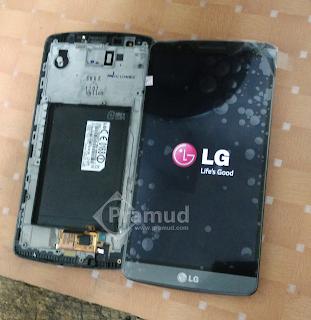 tutorial lengkap cara mengganti layar lcd toucsreen lg g3 yang rusak - pramud blog