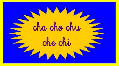 Resultat d'imatges de letras ch y ñ