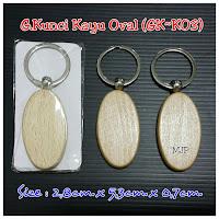Gantungan Kunci Kayu GK-K03