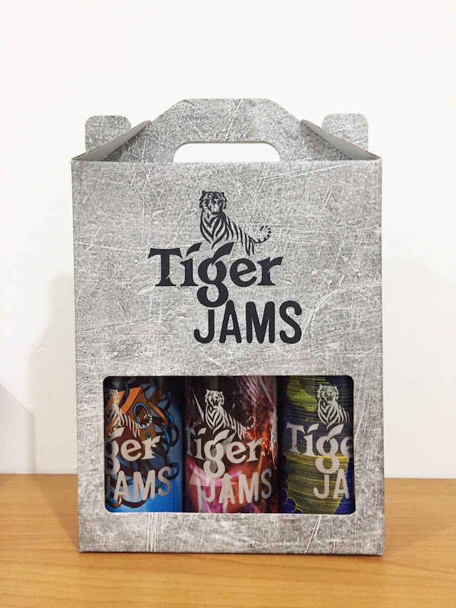 Limited Edition Tiger Beer Bottles - Tiger Jams