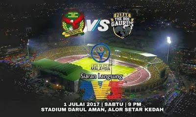 Live Streaming Kedah vs Perak Liga Super 1 Julai 2017