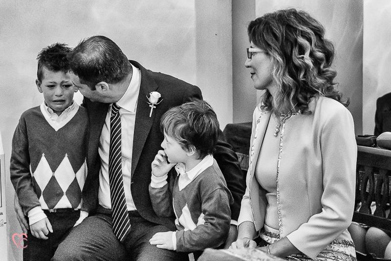 Matrimonio Alessia e Fabio, cerimonia
