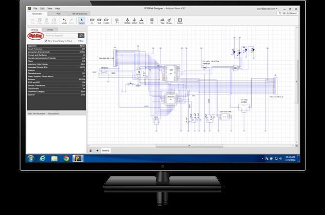 Free Download PCBWeb Printed Circuit Board Design Software for ...