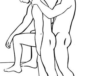 Tư thế làm tình đồng tính nam tư thế đứng