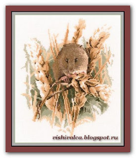"Heritage Crafts JSHM438 ""Harvest Mouse"""