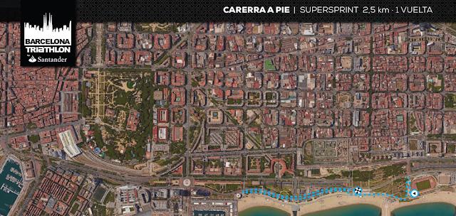 Barcelona Triathlon Supersprint
